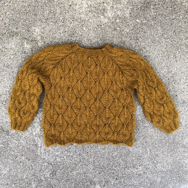 Olive Cardigan - Deutsch
