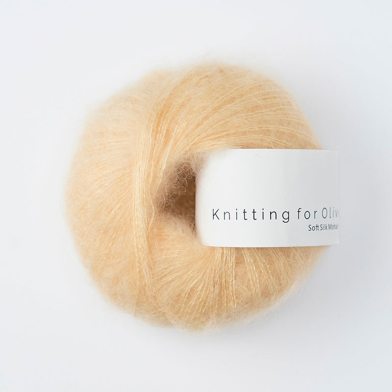 Knitting for Olive Soft Silk Mohair - Soft Peach