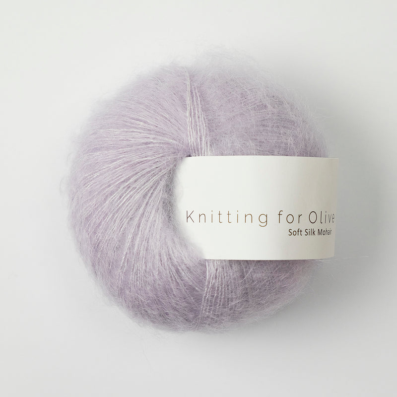 Knitting for Olive Soft Silk Mohair - Unicorn Purple