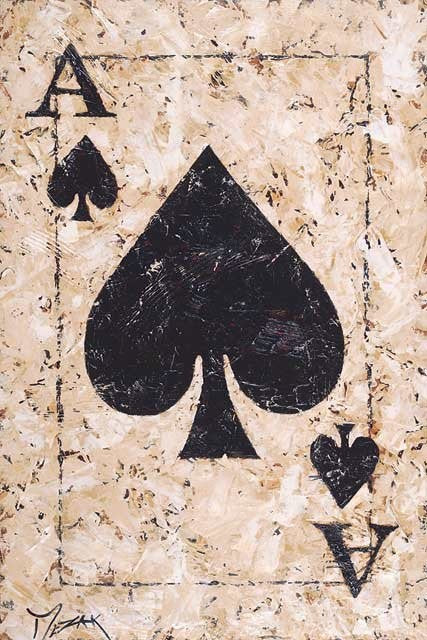 Ace of Spades 1 - Michael Godard Art Gallery