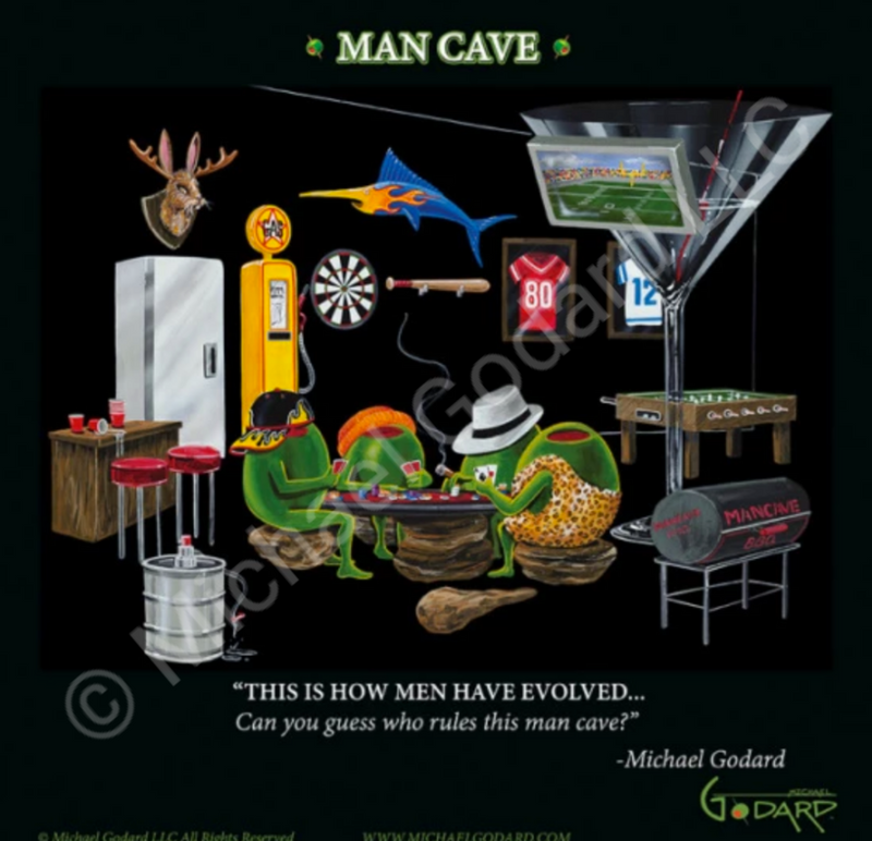 Man Cave Famed