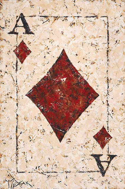 Ace of Diamonds - Michael Godard Art Gallery