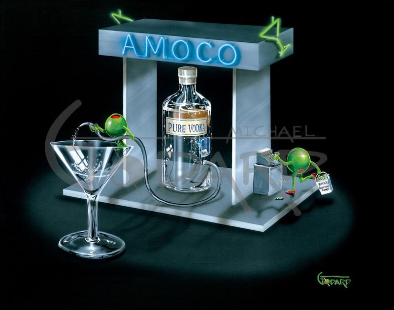 Amoco - Michael Godard Art Gallery