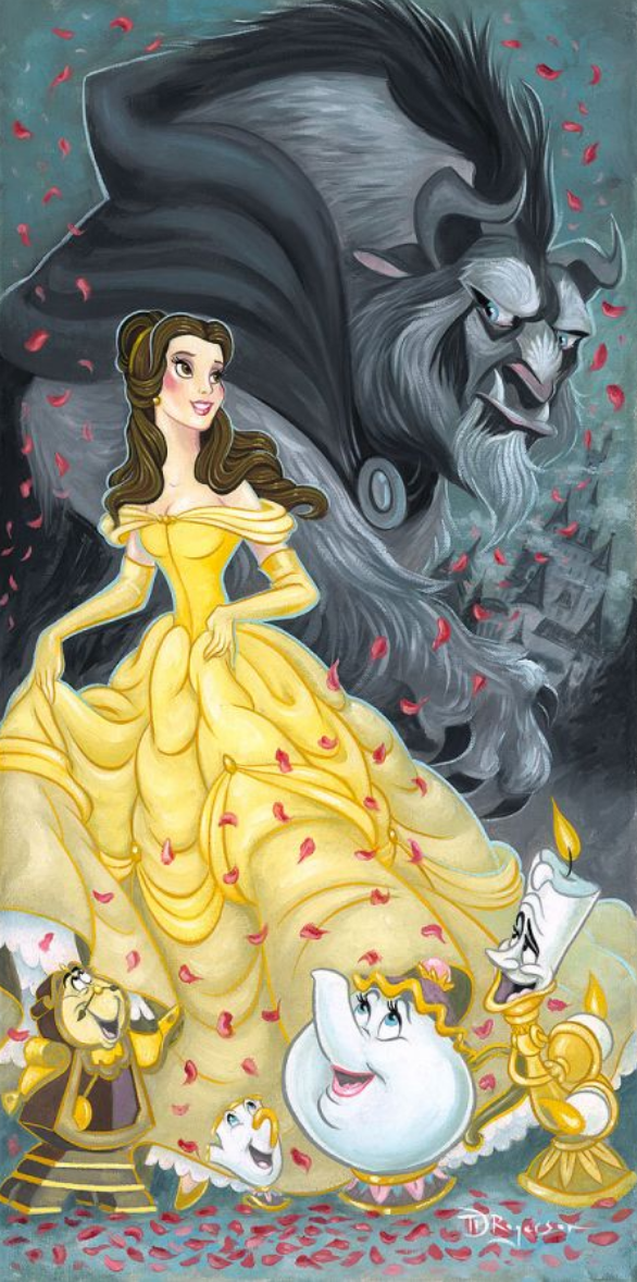 Belle and the Beast - Michael Godard Art Gallery