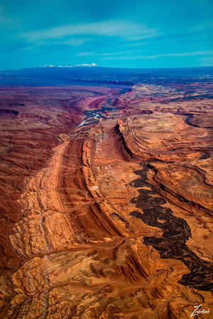 Comb Ridge II- aerial fine art photography by Zedekiah