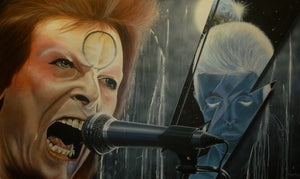 David Bowie - Ground Control To Major Tom - Michael Godard Art Gallery