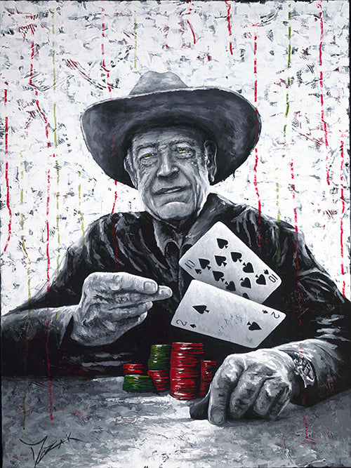 Doyle Brunson - Michael Godard Art Gallery