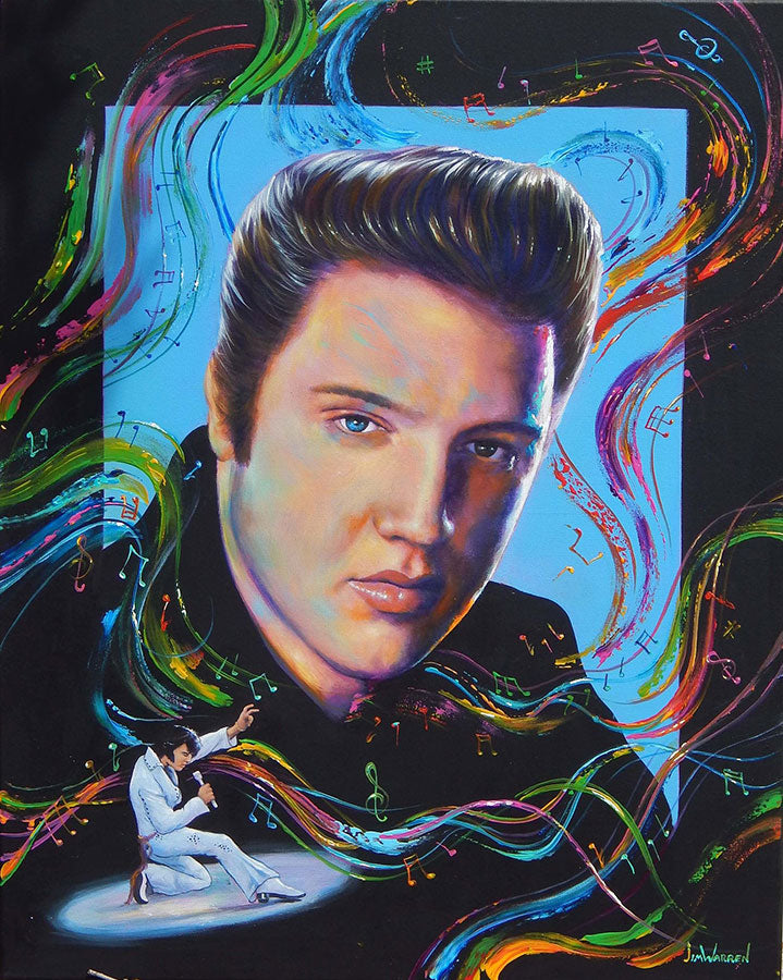 Elvis : The Music is Alive - Michael Godard Art Gallery
