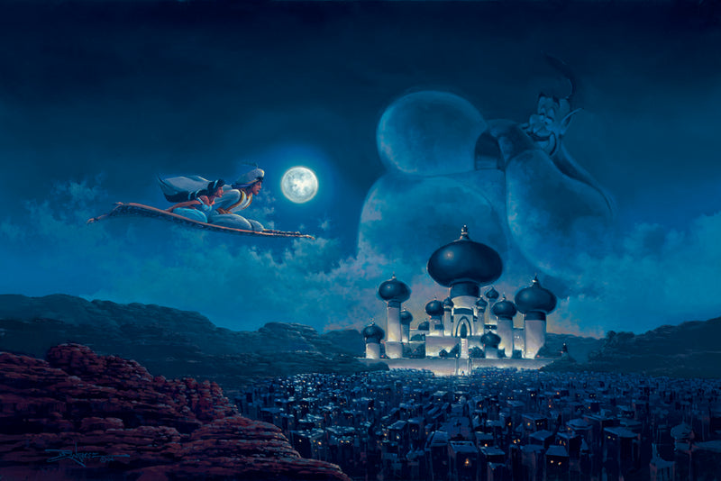 Flight Over Agrabah