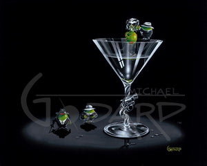 Gangster Martini - Michael Godard Art Gallery