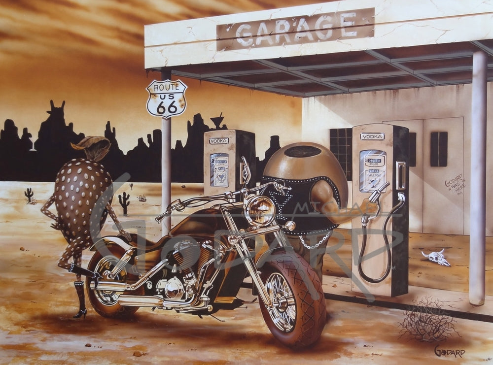 Historic Route 66 GP - Michael Godard Art Gallery