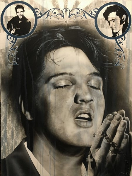 Elvis - How Sweet the Sound - Michael Godard Art Gallery