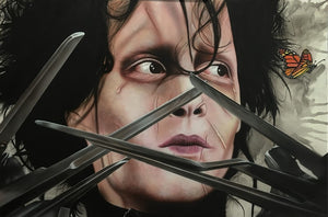 Edward Scissorhands - I Am Not Complete - Michael Godard Art Gallery
