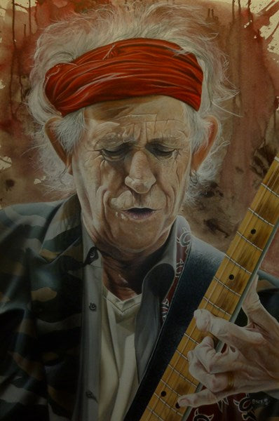 Keith Richards (The Rolling Stones) - A Man of Wealth and Taste