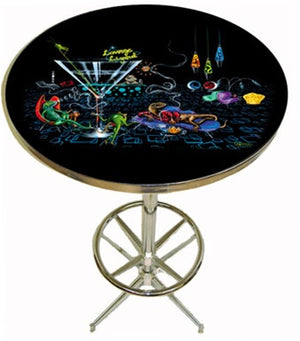 Lounge Lizards Pub Table - Michael Godard Art Gallery