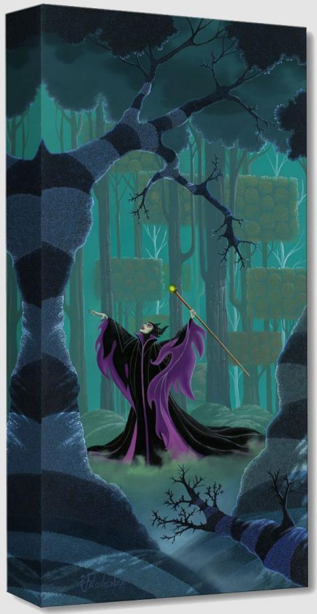 Maleficent Summons the Power (Treasures)