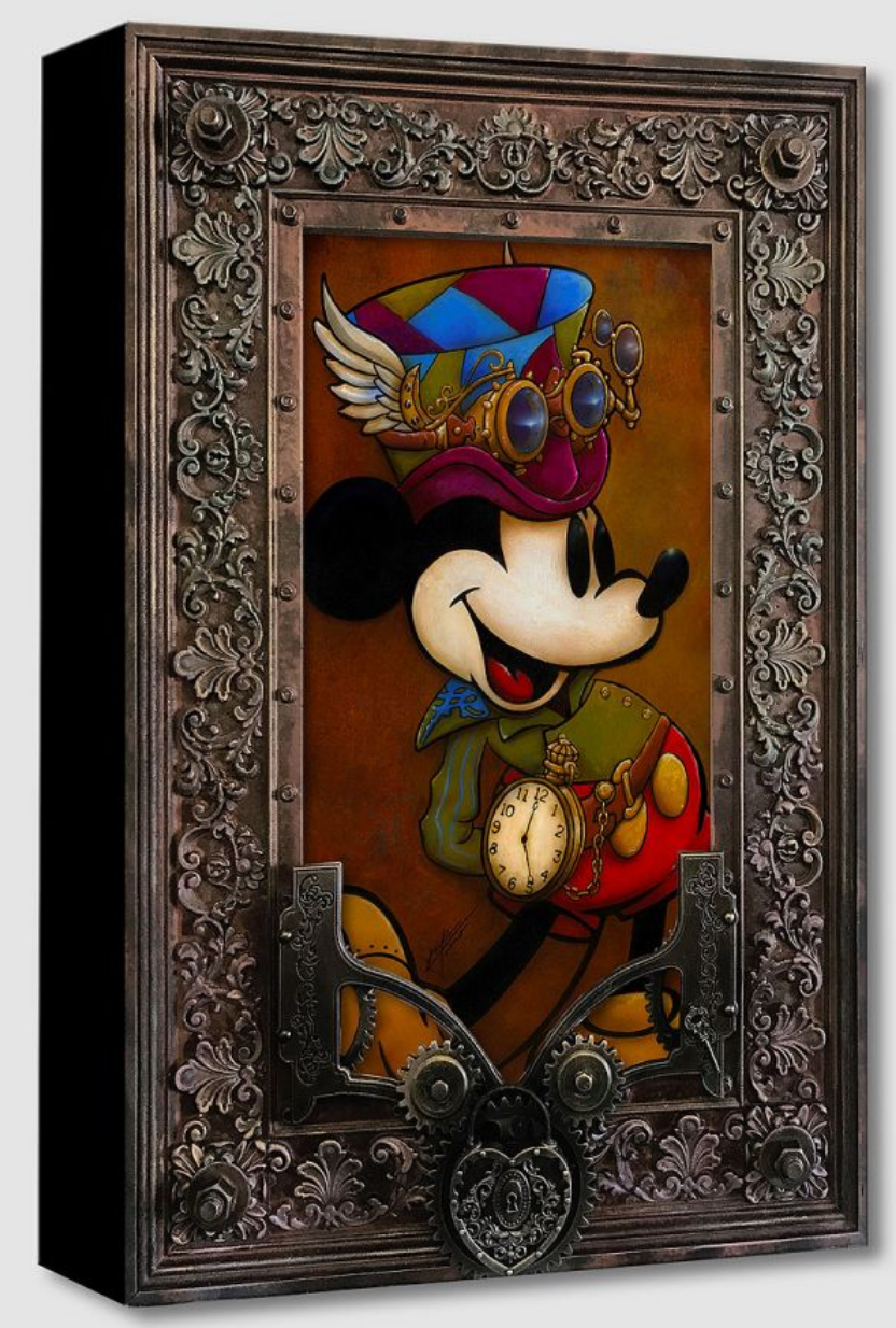 Mickey Through the Gears (Treasures)