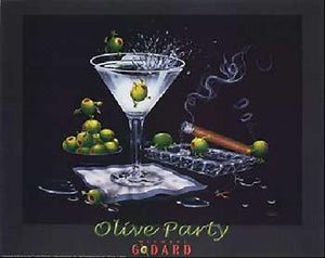 Olive party - Michael Godard Art Gallery