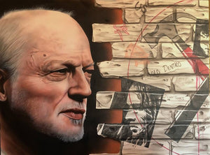 David Gilmour (Pink Floyd) - I Have Seen the Writing On the Wall - Michael Godard Art Gallery