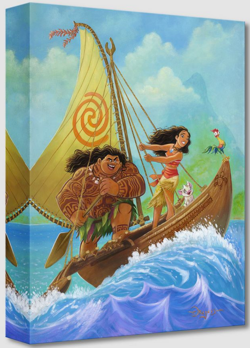 Moana knows the Way (Treasures)