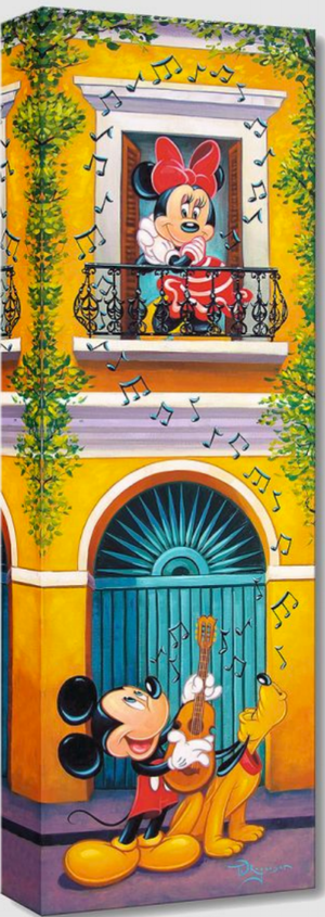 Balcony Serenade - Michael Godard Art Gallery