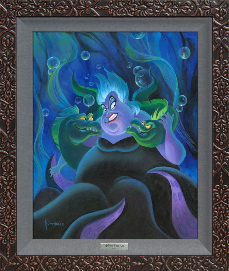 Ursula and Her Messengers (Silver)