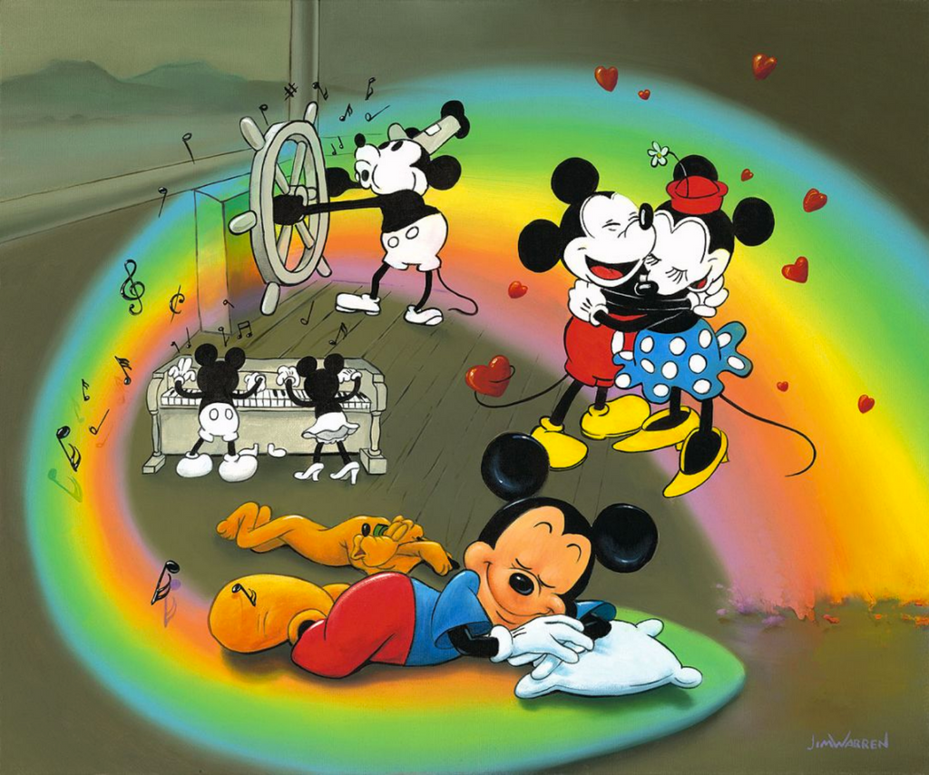 What Does Mickey Dream