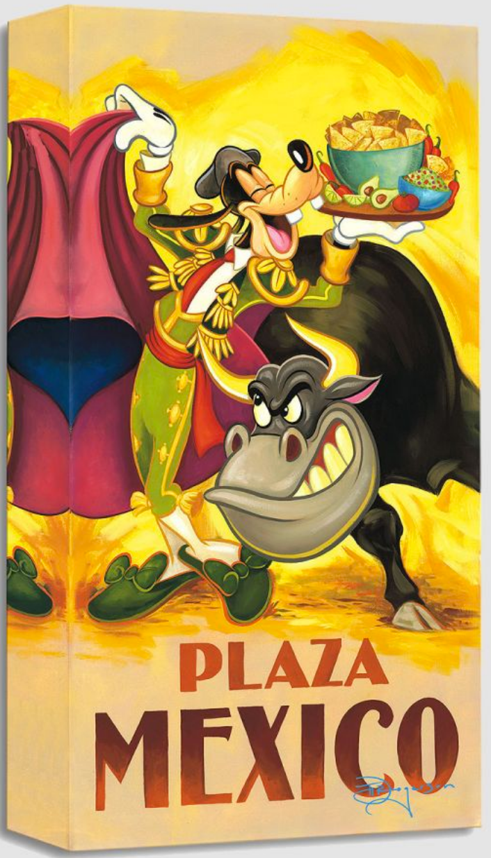 Goofy's Plaza mexico (Treasures)