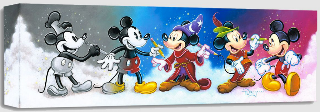 Mickey's Creative Journey (Treasures)