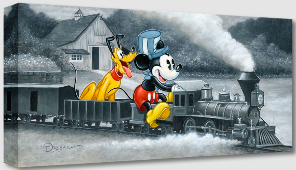 Mickey's Train (Treasures)