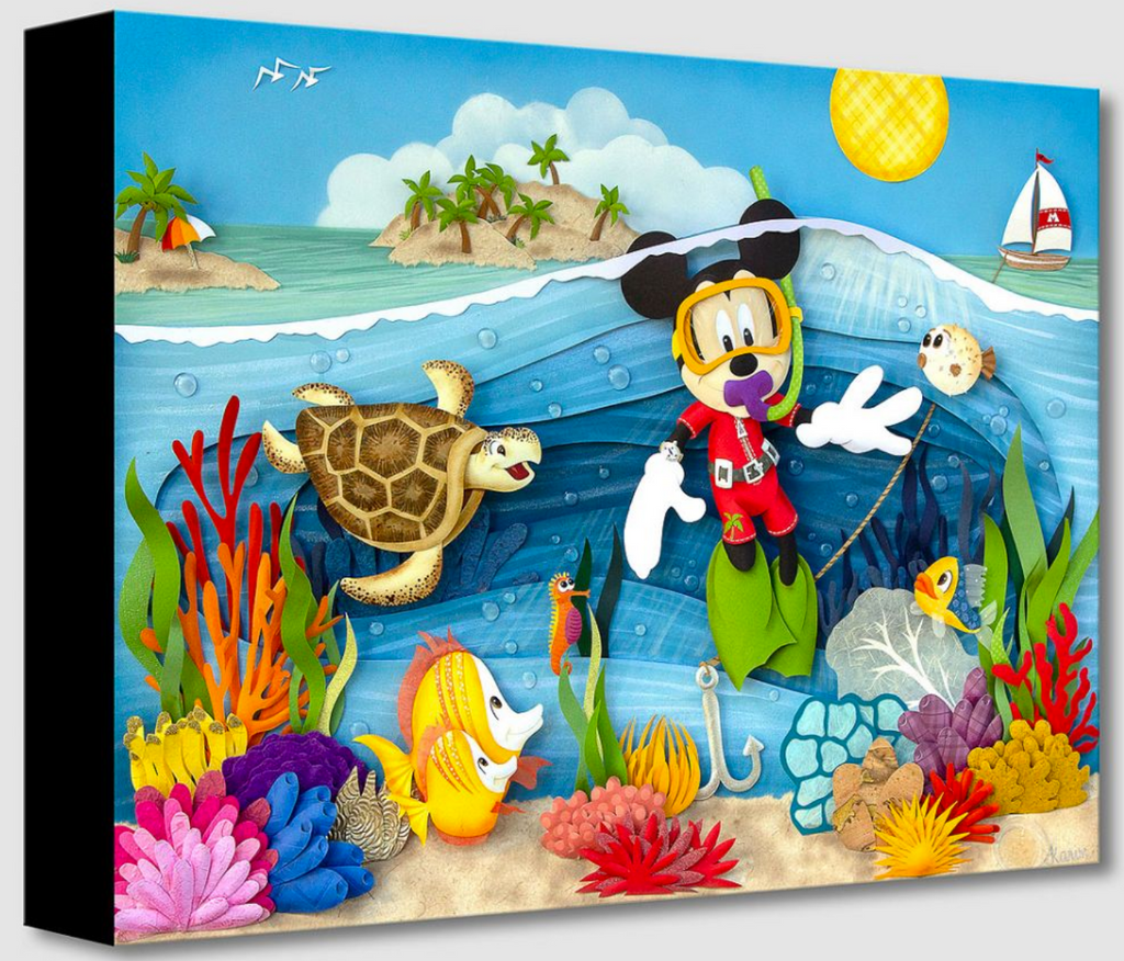 Scuba Mickey (Treasures)