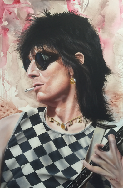 Ronnie Wood (The Rolling Stones) - Stole Many a Man's Soul to Waste