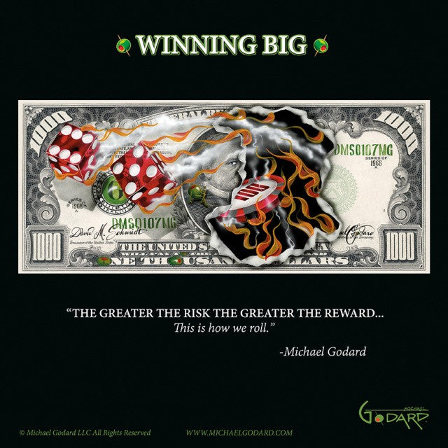 $1,000 Winning Big - Michael Godard Art Gallery