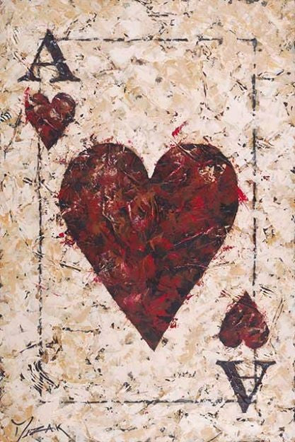 Ace of Hearts - Michael Godard Art Gallery
