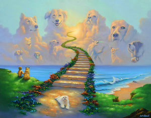All Dogs Go to Heaven 2 - Michael Godard Art Gallery