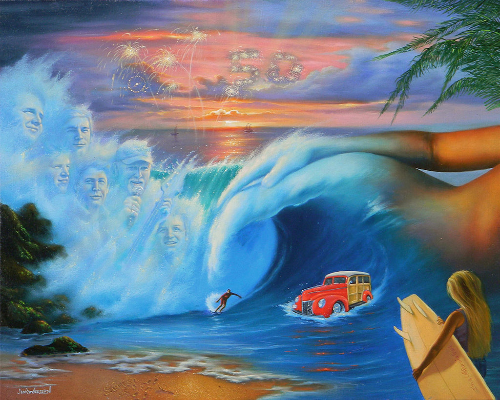 Beach Boys - Michael Godard Art Gallery