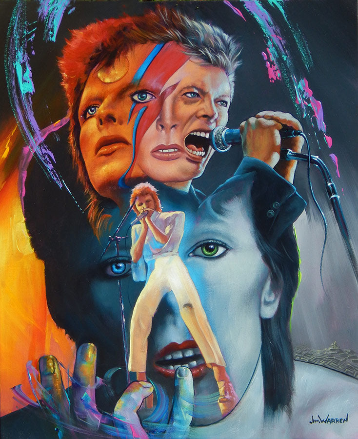 Bowie - Michael Godard Art Gallery