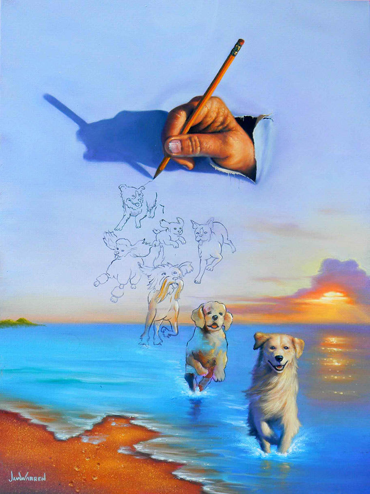 Canine Creations - Michael Godard Art Gallery