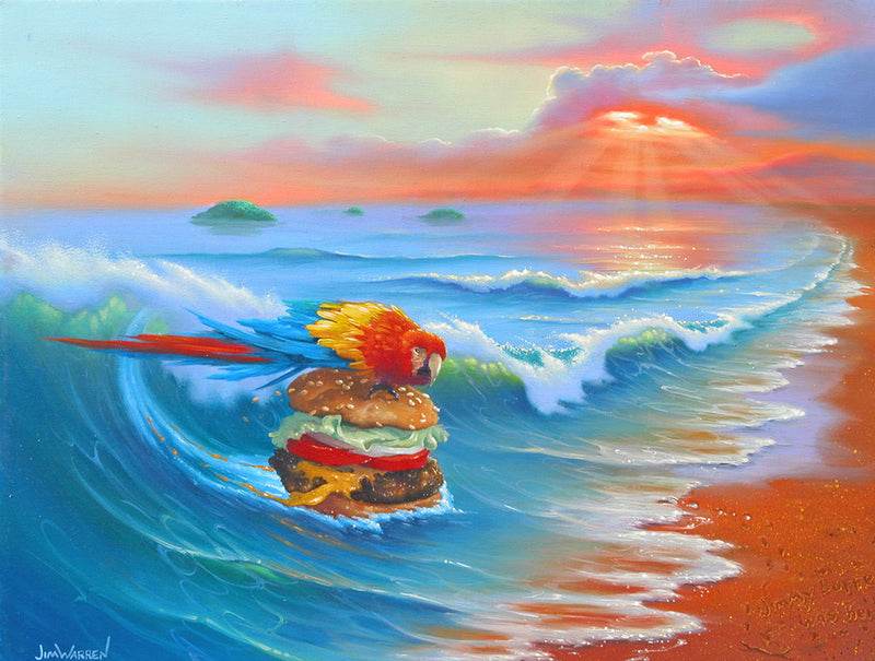 Cheeseburger in Paradise - Michael Godard Art Gallery
