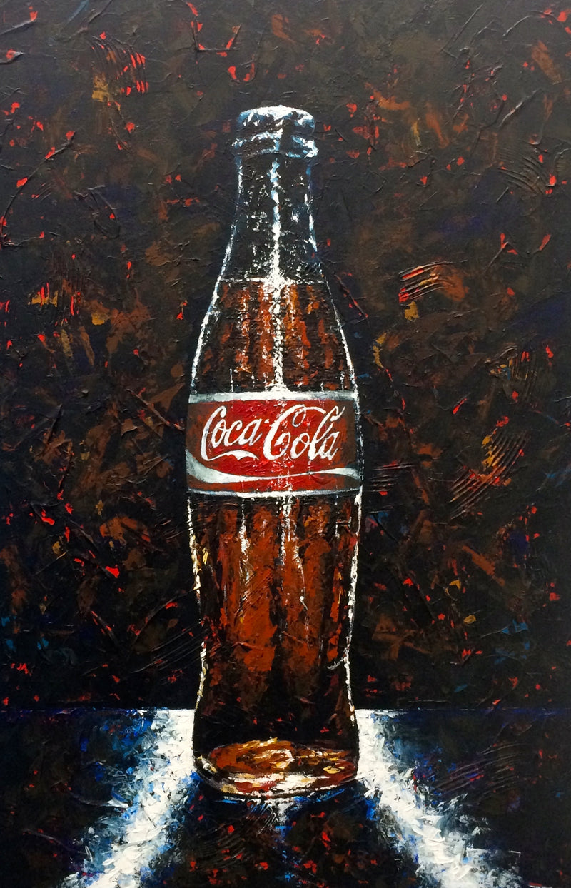 Coca-Cola Bottle - Michael Godard Art Gallery