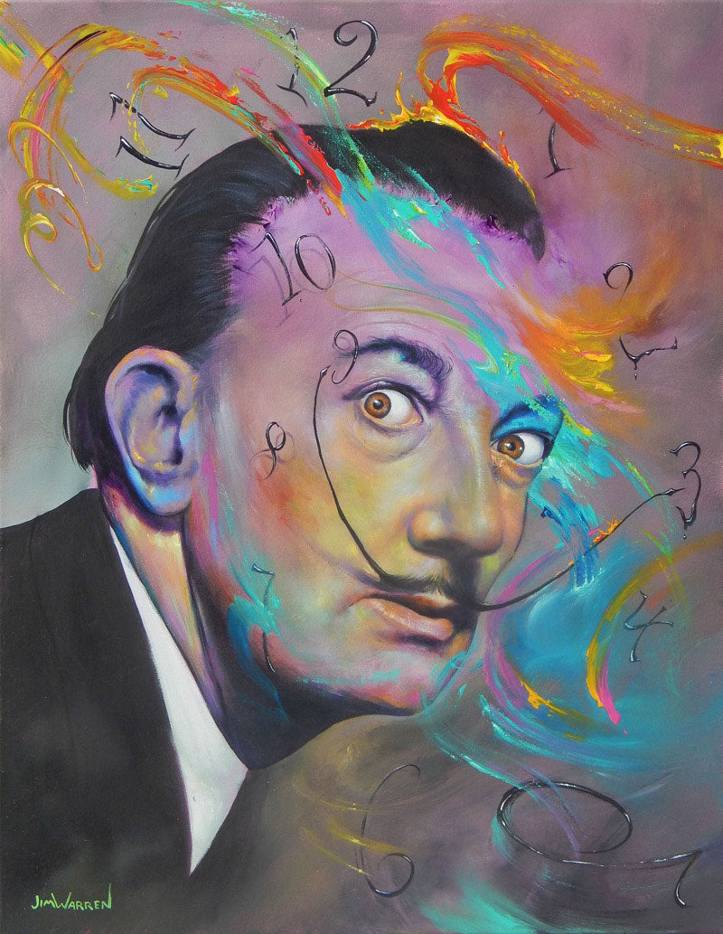 Dali - Man of His Own Time - Michael Godard Art Gallery