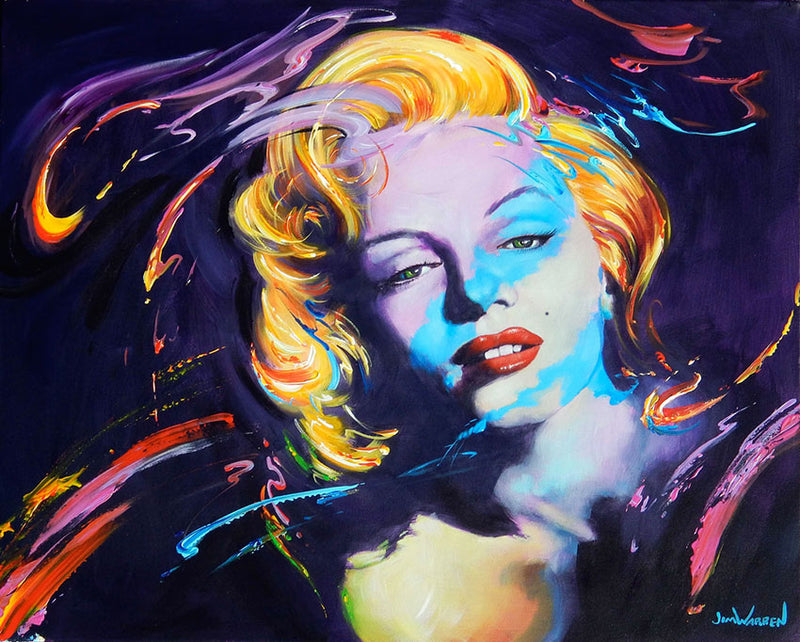 Dreaming of Marilyn - Michael Godard Art Gallery