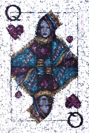 Carnivale - Queen of Hearts - Michael Godard Art Gallery