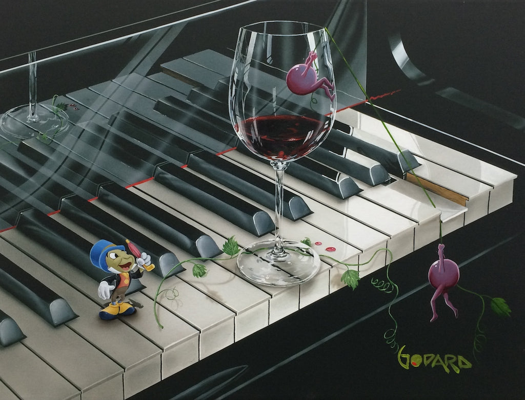 Jiminy Cricket's Piano Keys