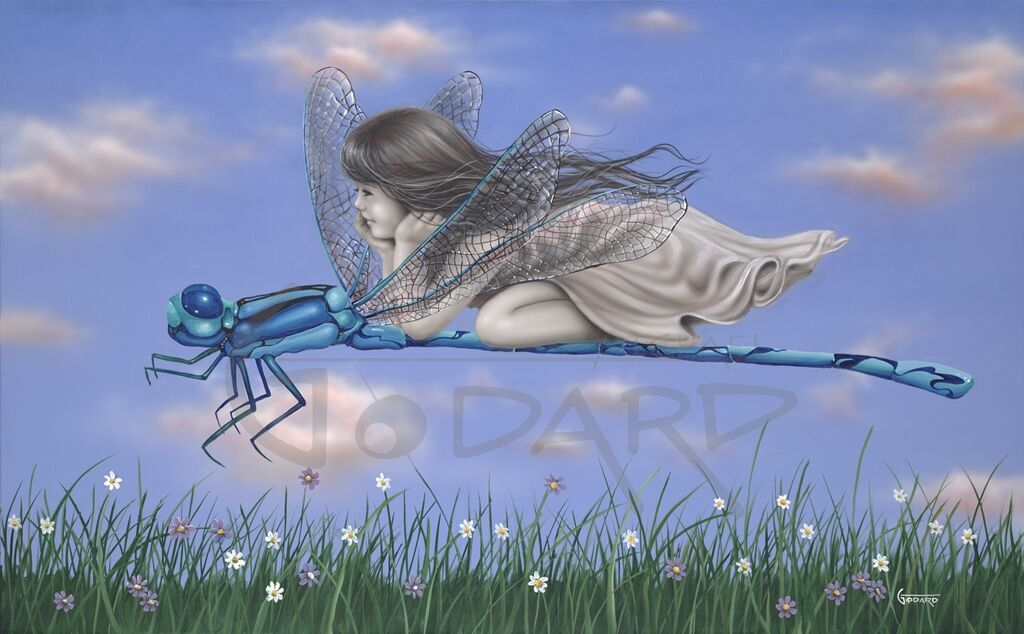 Dragonfly II - Michael Godard Art Gallery