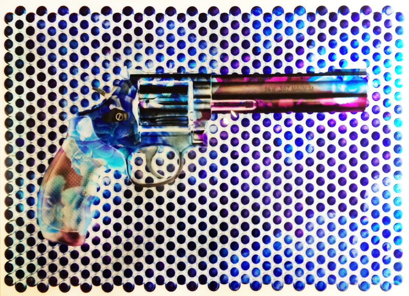 Smith and Wesson Roses fine art by Jon Rouse