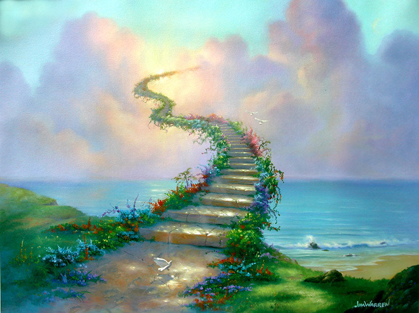 stairway to Heaven by Jim warren