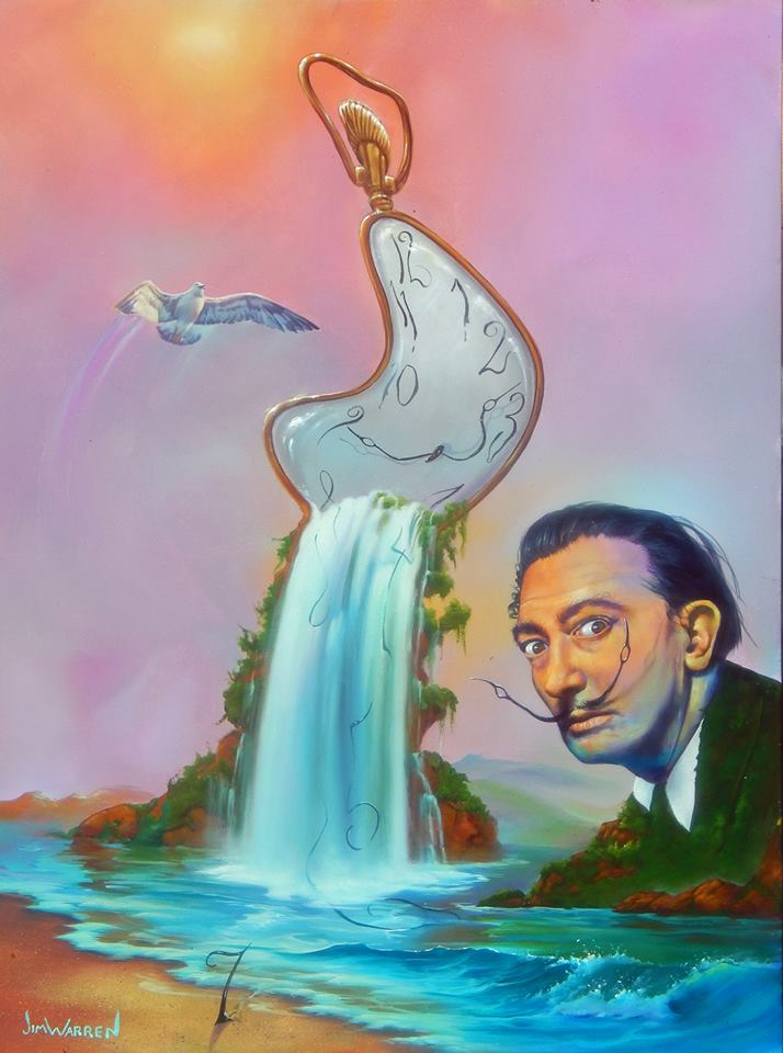 The World on Dali Time