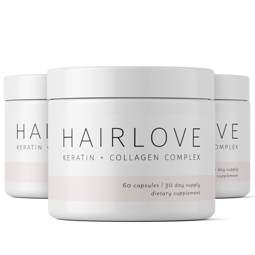 Keratin + Collagen Complex 3 Month Supply