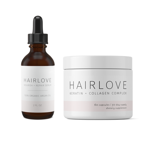 Keratin + Collagen Complex and Nourish + Repair Bundle
